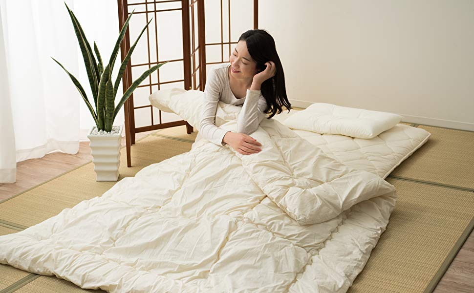 Japanese futon shikifuton floor mattress