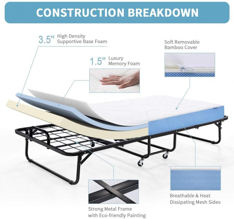 eco friendly folding bed