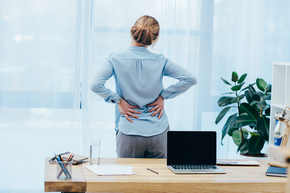 lower back pain office sitting